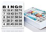 DiPrint 500 Cartones Bingo Tarjetas System 25 de 75 (10,5 x 11 cm) …