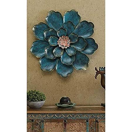 Urban Tree'Z Iron Rajasthani Shine Flower Decor Wall Decor Wall Hanging