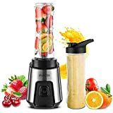 iRUNTEK Personal Blender for Shakes and Smoothies, Small Countertop Blender for Kitchen, Food...