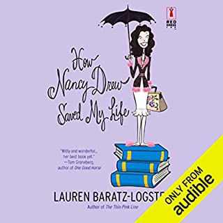 How Nancy Drew Saved My Life                   By:                                                                                                                                 Lauren Baratz-Logsted                               Narrated by:                                                                                                                                 Elenna Stauffer                      Length: 7 hrs and 8 mins     103 ratings     Overall 3.1
