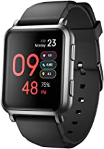 LEFIT Pedometer Smartwatch with Connected GPS Fitness Tracker Heart Rate Monitor IP68 Waterproof, Compatible with iOS Android