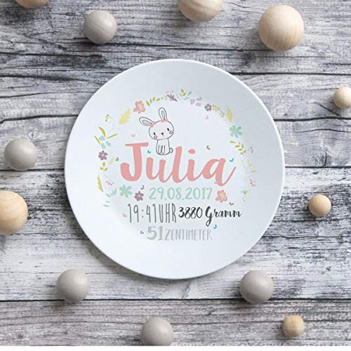 Teller Kinderteller Melaminteller Kunststoffteller Julia