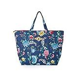 PiP Studio Strandtasche Good Night Blau Blumen Blüten Strand Urlaub Beach Bag