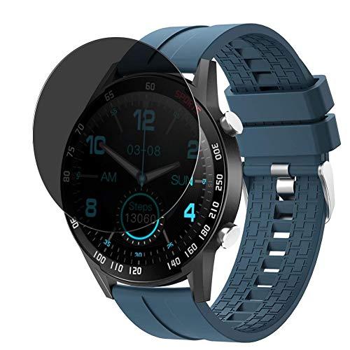 Vaxson TPU Pellicola Privacy, compatibile con YoYoFit SW212 smartwatch Smart Watch, Screen Protector Film Filtro Privacy [Non Vetro Temperato Cover Custodia ]