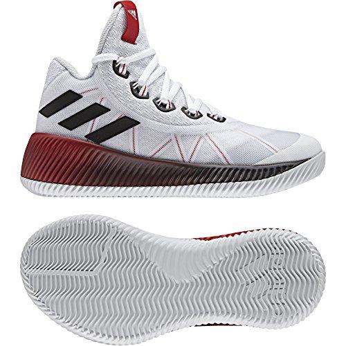 adidas adidas Unisex-Kinder Energy Bounce Bb J Turnschuhe, Elfenbein (Ftwbla/Negbas/gritra), 38 EU