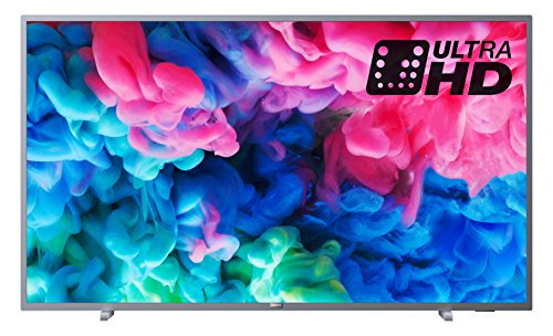 Philips 43PUS6523/12 43-Inch 4K Ultra HD Smart TV with HDR Plus and Freeview Play - Dark Silver (2018 Model)
