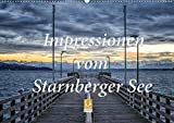Impressionen vom Starnberger See (Wandkalender 2021 DIN A2 quer)