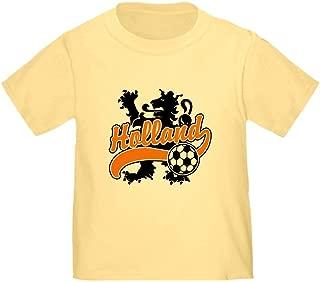 CafePress Holland Soccer Toddler T-Shirt Toddler Tshirt