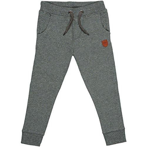 Staccato Jungen Jogginghose | Anthra Mel. 116/122 | Kordelzug | elastische Rippbündchen
