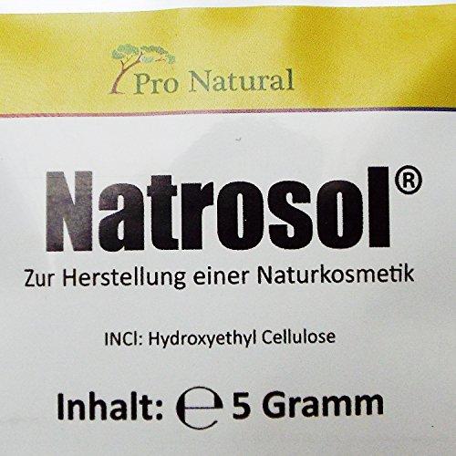 Gelbildner Natrosol 250 HX (5g) zum selbst herstellen von Naturkosmetik Gesicht-Creme-Gel-Serum-Konzentrat