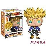 N / A Funko Pop Dragon Ball Supera A Sun Son Goku Vegeta Biros Beckett Modelo De Mueca Hecha A Mano Seven Dragon Ball Z-tranx Limitada Cabello Amarillo 155cm Punto Modelo Hecho A Mano