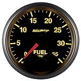 Auto Meter 5661Elite 2–1/16'0–35PSI Medidor de presión de combustible