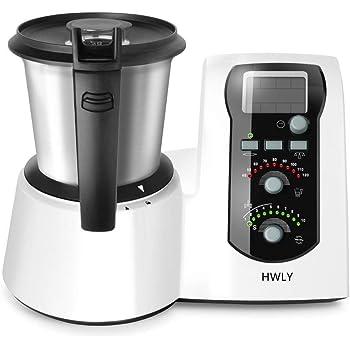 Mycook Easy Robot De Cocina Por Induccion, 1600 W, 2 Litros, Plástico, Negro, Acero Inoxidable, Blanco: Amazon.es: Hogar