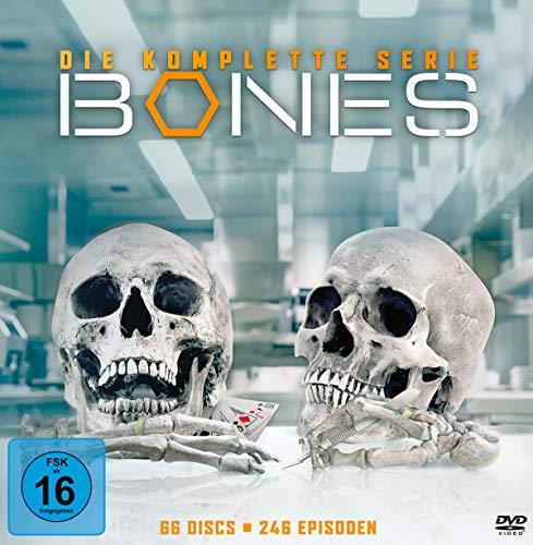 Bones - Die komplette Serie (66 Discs)