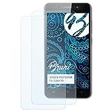 Bruni Schutzfolie kompatibel mit Cubot X9 Folie, glasklare Bildschirmschutzfolie (2X)