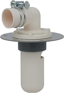 谷大 洗衣机用 防止异味的排水拖把 直接安装在地板上使用方便 呼50VU管兼用 米色 426-010-50 426-010-50