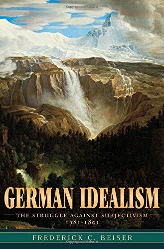 German Idealism: The Struggle against Subjectivism, 1781–1801