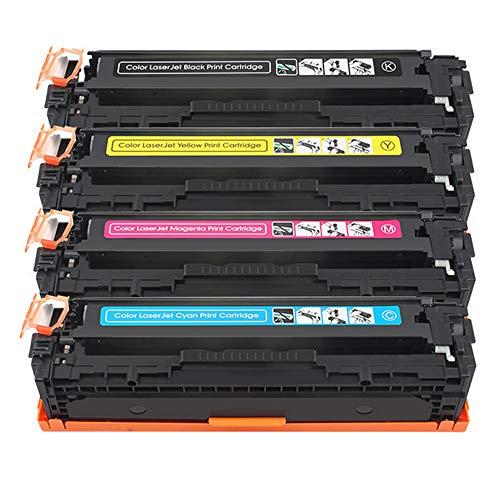 Office inkt toner alternatief voor HP CB540A CB541A CB542A CB543A tonercartridge compatibel voor HP CP1210 CP1215 CP1215N CP1217 CP1510 CP1514 CP1514N CP1515N CP1518 CP1518NI CM1312 CM1312NF CM1312N