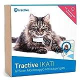 Tractive Localizzatore GPS per gatti, a Portata illimitata, Monitoraggio dell'attività, Impermeabile (Ultimo modello)