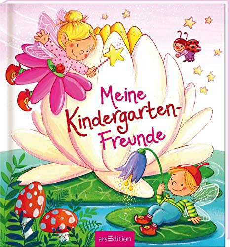 Meine Kindergarten-Freunde (Feen): Freundebuch für Feen-Fans, Mädchen und Jungen ab 3 Jahren