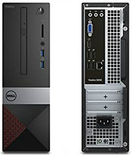 2018 Vostro 3470 Mini Tower 8th Generation Desktop Computer PC (Intel Quad Core i3-8100, 4GB Ram, 1TB HDD, HDMI, VGA, WiFi, DVD-RW) Window 10 (Renewed)