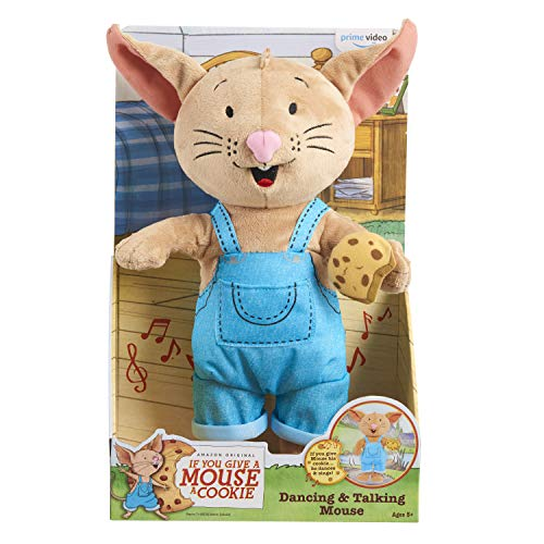 If You Give a Mouse a Cookie Dancing & Talking Plush Now $15.91 (Was $29.99)