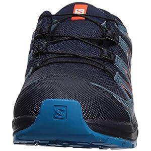 Salomon Kids' XA Pro 3D CSWP J Trail Running Shoes, Navy Blazer/Mallard Blue/Hawaiian Surf, 6