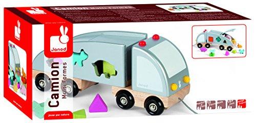 Janod - 4505596 - Camion de forme et couleur