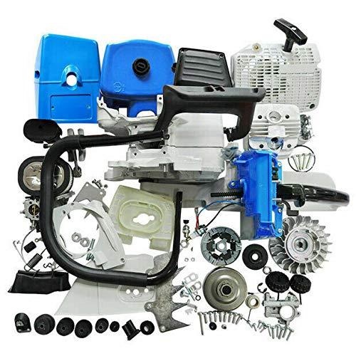 NEO-TEC Piezas del motor para Stihl MS660 Motosierra Cilindro Carburador Tanque de combustible Tanque de Combustible Conjunto de reparación del cigüeñal