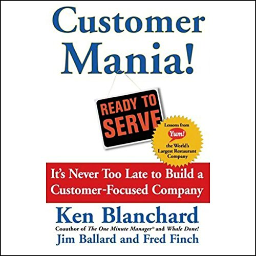 Customer Mania! audiobook cover art