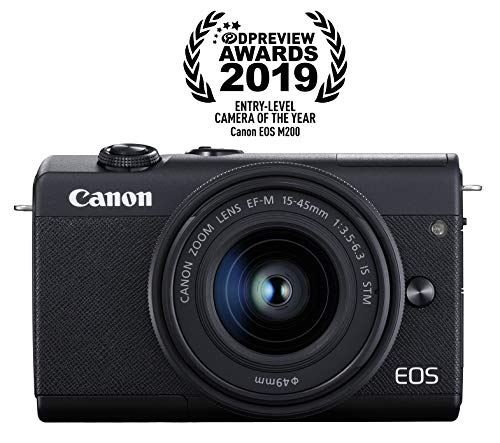 Canon EOS M200 Mirrorless Camera(Under $500)