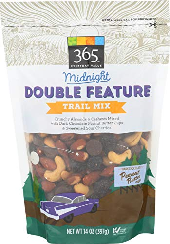 365 Everyday Value, Midnight Double Feature Trail Mix, 14 oz