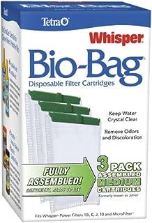 Tetra Whisper Assembled Bio-Bag Filter Cartridges for Aquariums