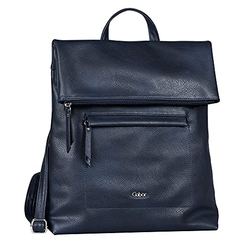 Gabor bags MINA Damen Rucksack M, blue, 24x10x25