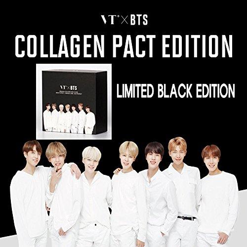Korean Cosmetics_VT x BTS Collagen Pact Black BTS edition_11g no.21 light beige