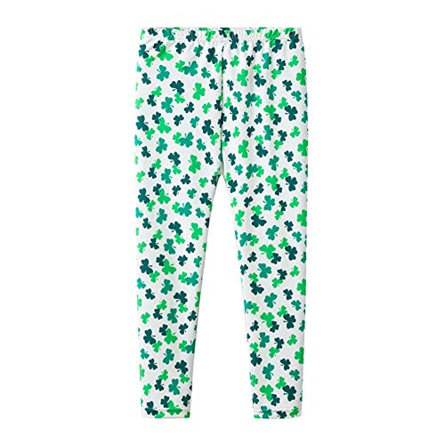 Modder Koninkrijk Jongens Meisjes Leggings Traditionele Shamrocks St. Patrick's Day