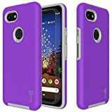 CoverON Slim Protective Hybrid Rugged Series for Google Pixel 3A Case, Pretty Purple