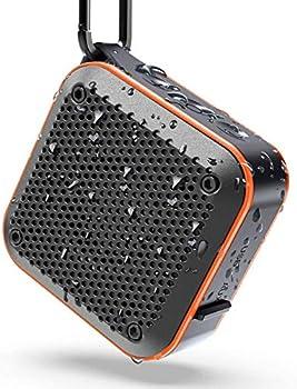 LEZII IPX7 Waterproof Shower Bluetooth Speaker