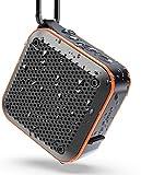 LEZII IPX7 Waterproof Shower Bluetooth Speaker, Portable Wireless Outdoor Speaker, Support TF Card
