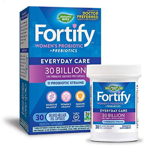 Nature's Way Fortify Women's Probiotic, 30 Billion Live...