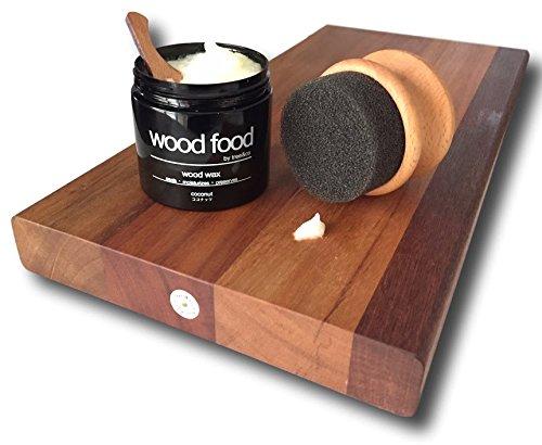 """WoodFood""天然艶出し蜜蝋ワックス(ブラッドオレンジ,180ml)"