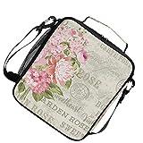 Ghirlanda di fiori per arcobaleno per pranzo al sacco, borsa termica più fresca, tracolla...