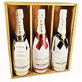 Champagne Moet & Chandon - 2 * Ice Impérial Brut/Ice Imperial Rosé - En caja de madera