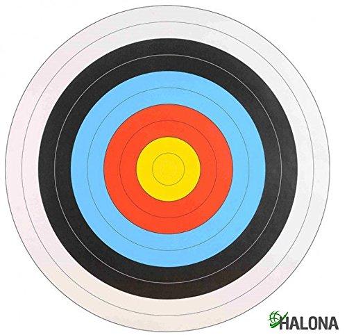10x FITA Scheibenauflage Training, Zielscheibe, Bogenschießen, Sportbogen Auflage 60 cm
