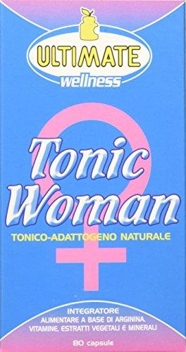 Ultimate Italia Tonic Woman Integratore di Arginina - 80 Capsule