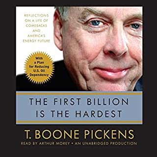 The First Billion is the Hardest audiobook cover art