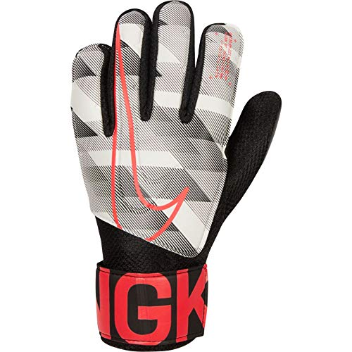 Desconocido Unbekannt Nk Gk Match Jr-GFX Goalie Glove, Kinder XL Weiß/Schwarz/rot (White/Black/Laser Crimson)