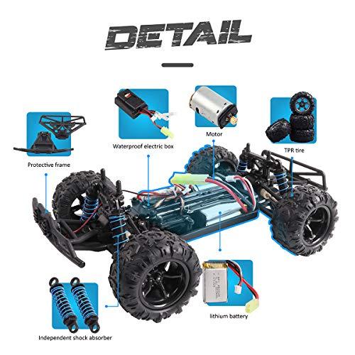 RC Crawler kaufen Crawler Bild 1: Maxxrace RC Autos Elektrisches Ferngesteuertes Spielzeugs, Remote Control Crawler Autos mit 4WD, 40Km/h, 2.4G, LED Geländewagen Geschenk für die Kinder / Jugendlichen High-Speed Fahrzeuge*