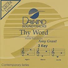 Thy Word Accompaniment/Performance Track