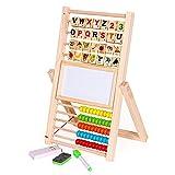 Multifunción Abacus Aprendizaje Soporte de Madera Juguetes Montessori Counting...